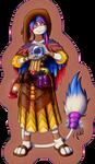 Iris's witch costume