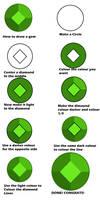 How to Draw a Gemstone! by PegasusNamedDeath
