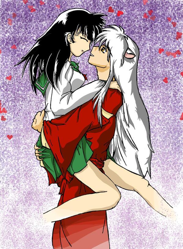 Kagome And Inuyasha Love