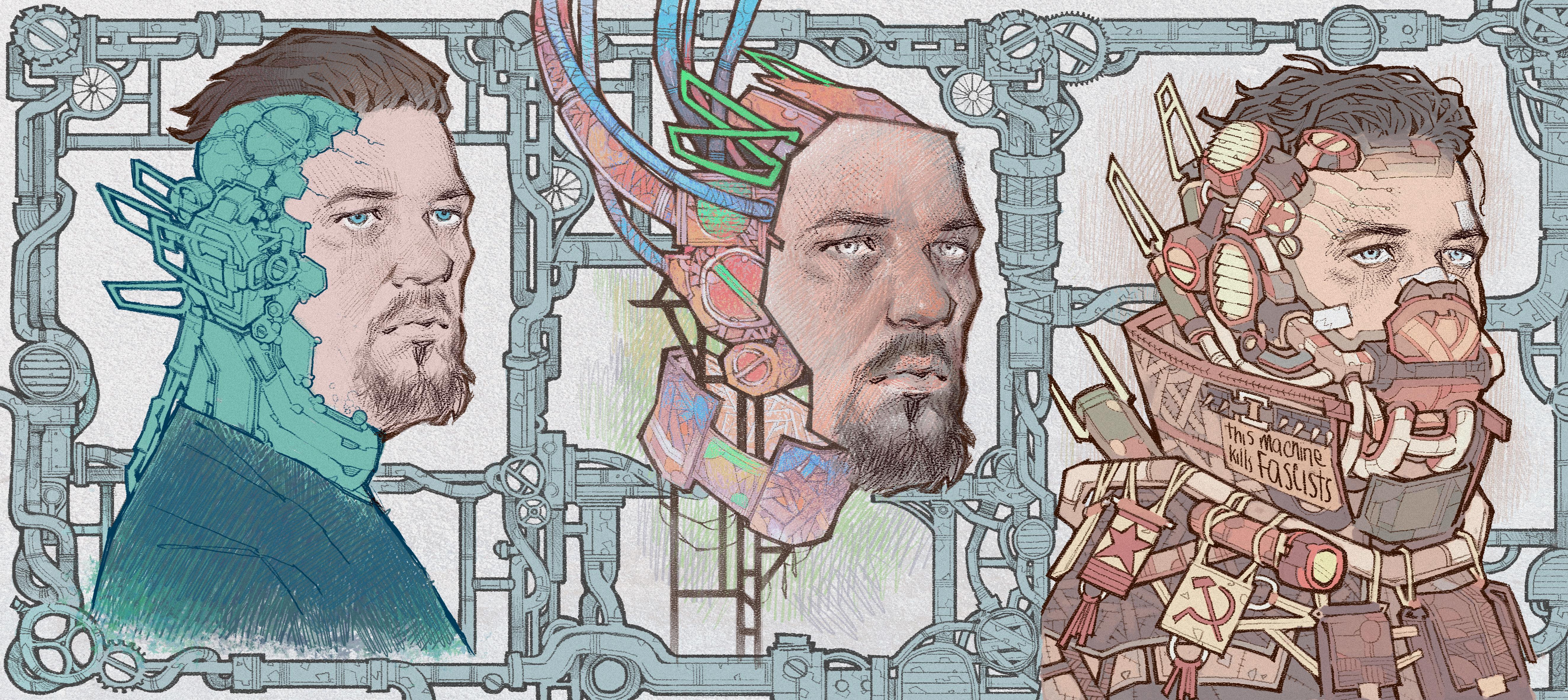 Frusciante Cyberpunk by Veritas93