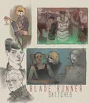 Blade Runner Sketches