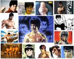 Bruce Lee Tribute Pics
