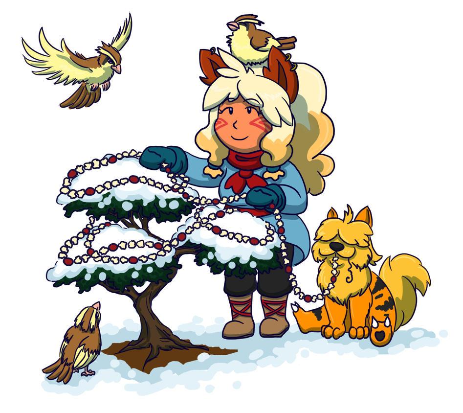 Secret Santa for Verna-C! by CrimsonGriffin
