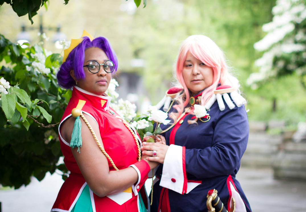 Anthy and Utena - Revolutionary Girl Utena by blackbettie