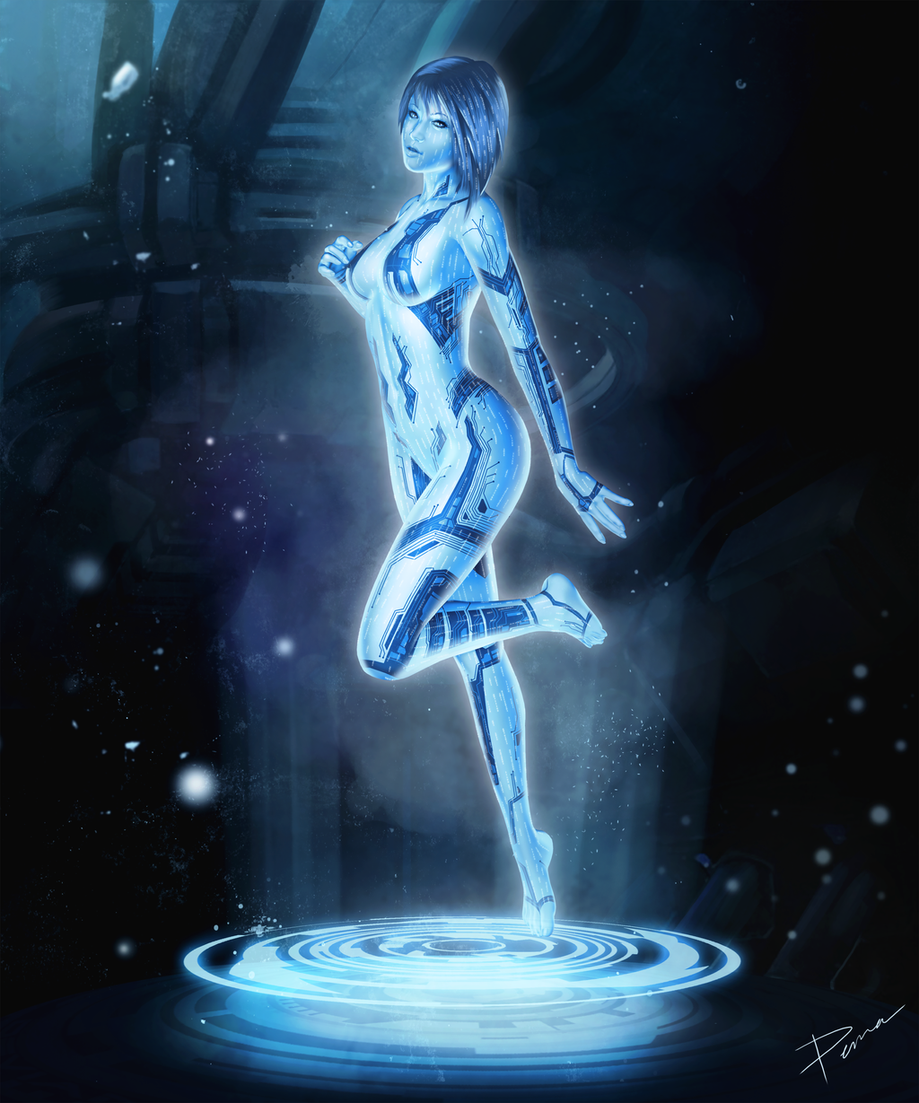 Promotion: Azusa and Snow Cortana_by_pemamendez-d620ihc