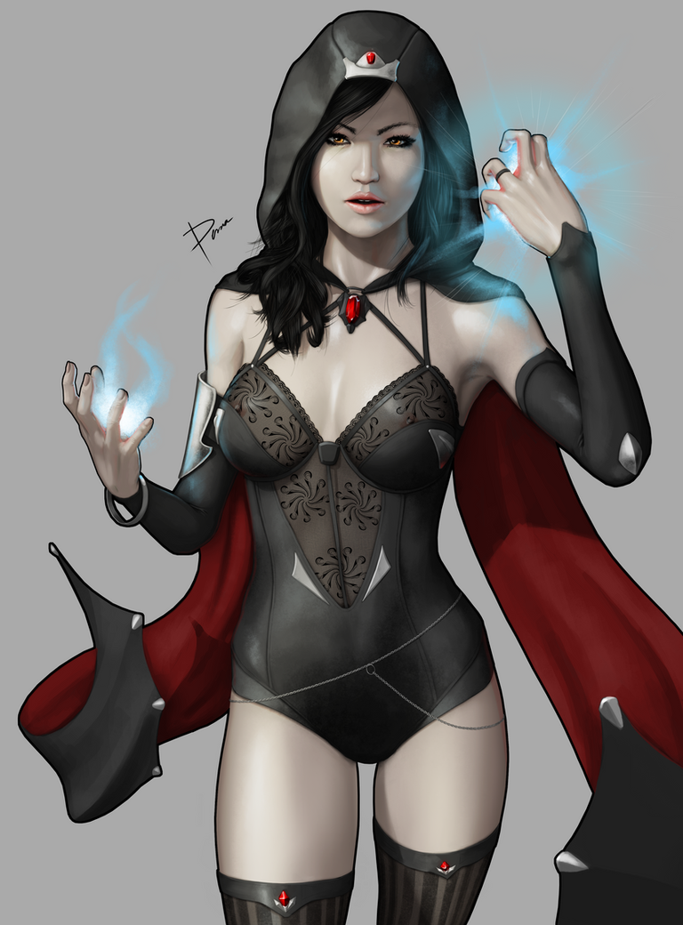 Sorceress by PemaMendez