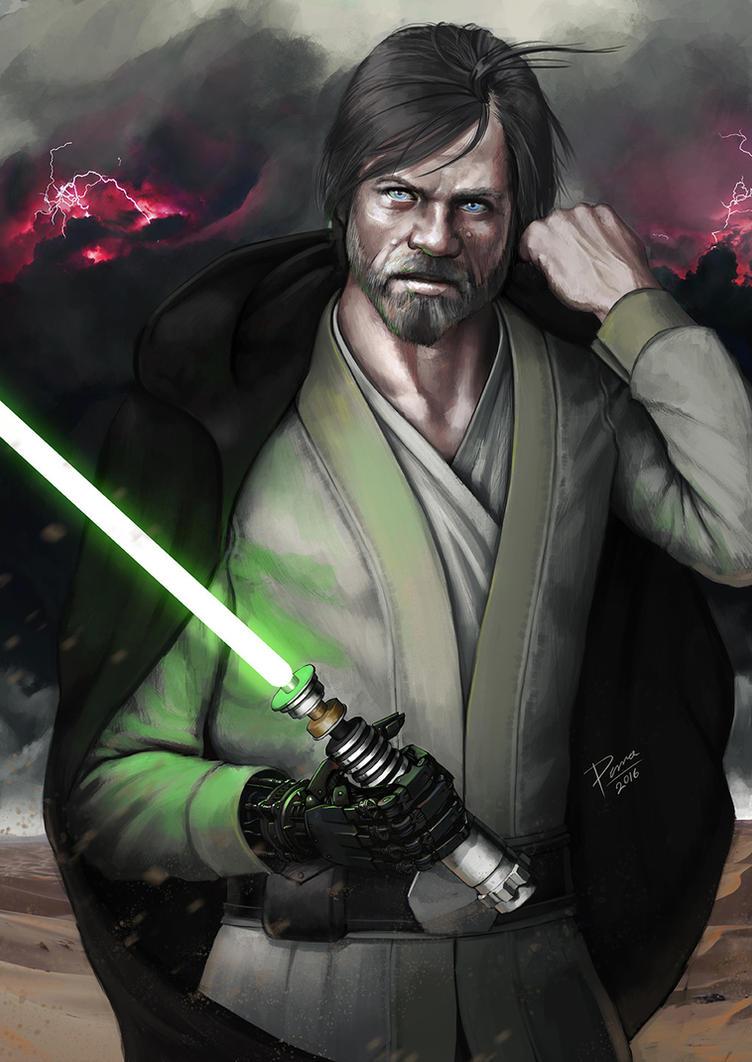 Grandmaster Luke Skywalker By PemaMendez