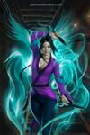 COMMISSION: Jade Warrior