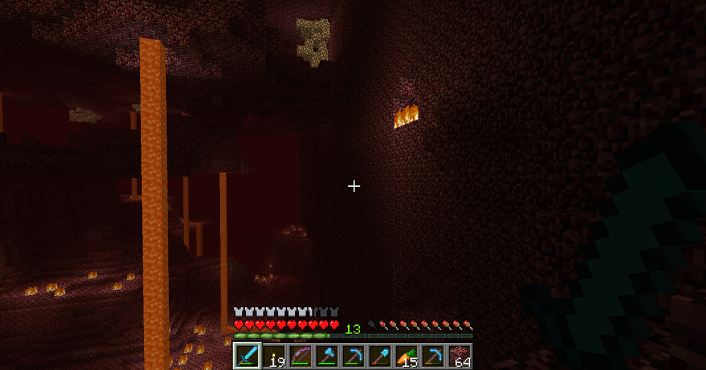 how to find nether quartz