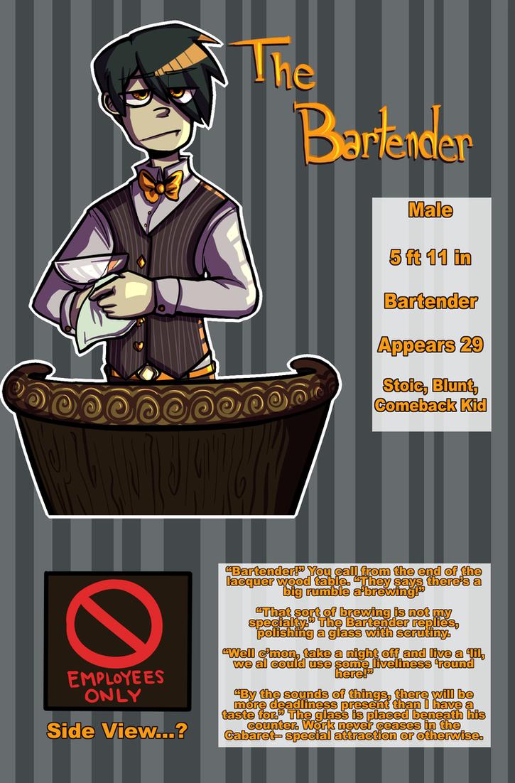 CCOCT: The Bartender NPC Ref by MischiefJoKeR