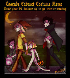 CCOCT: Halloween meme - Quedar and Reuben by MischiefJoKeR