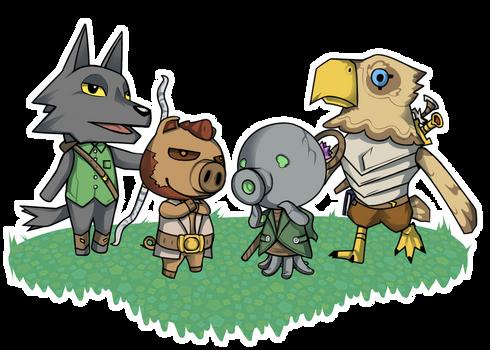 Adventurer Crossing - $10 villager comms