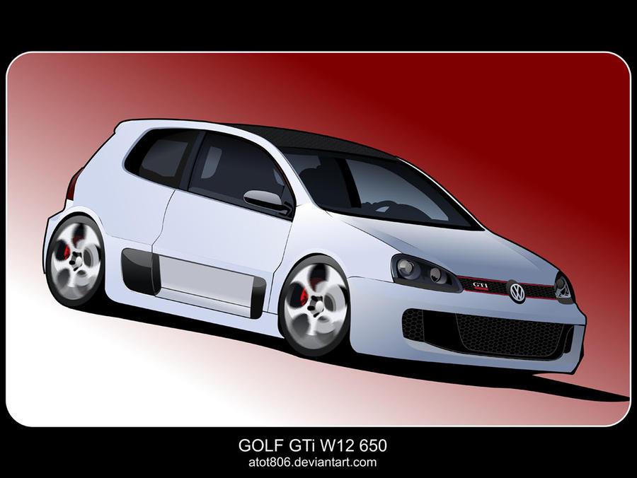 golf gti w12 650 by atot806 on deviantart. Black Bedroom Furniture Sets. Home Design Ideas