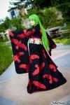 Code Geass C.C. Kimono Cosplay