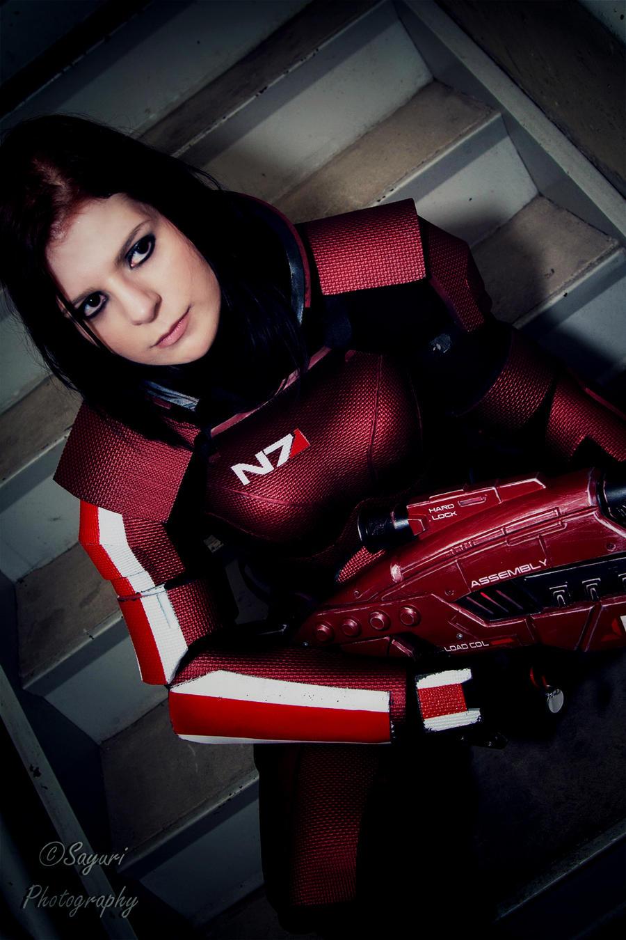 Mass Effect 3: Commander Shepard by VariaK