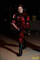 Mass Effect 3: Commander Shepard Akon 23 by VariaK