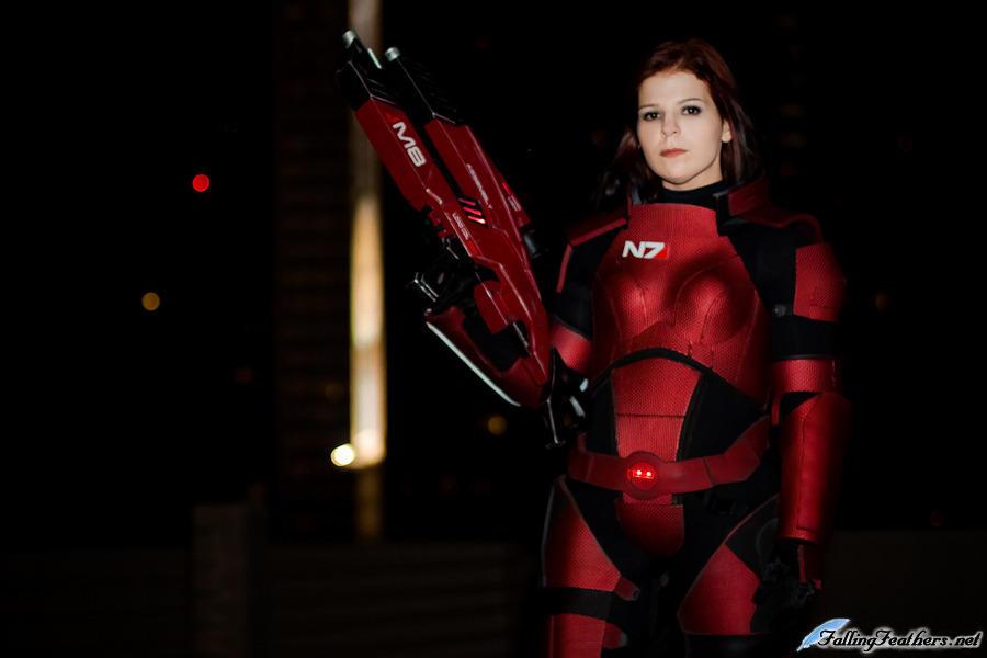 Mass Effect 3: Female Shepard Cosplay