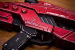 Mass Effect M-8 Assault Rifle in Red Pic 3