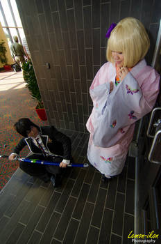 Blue Exorcist: Rin and Shiemi Cosplays