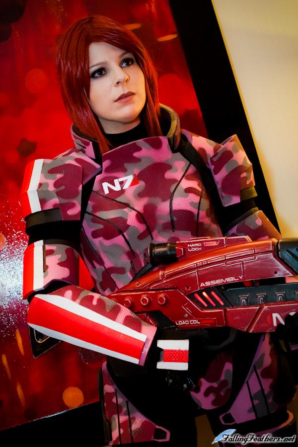 Mass Effect 3: FemShep by VariaK