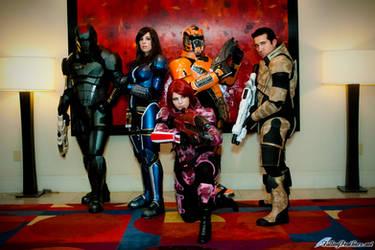 Mass Effect Cosplay Group by VariaK