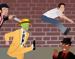 The Mask's Revenge on Jamie Kennedy by AndrewSS23