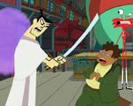 Samurai Jack meets Hermes Conrad (featuring Wilt)