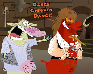 Cow and Chicken in Labyrinth
