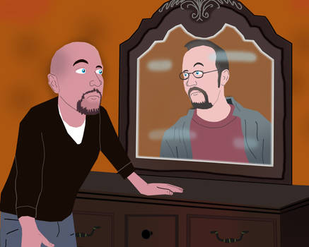 Doug Walker sees his Past Self