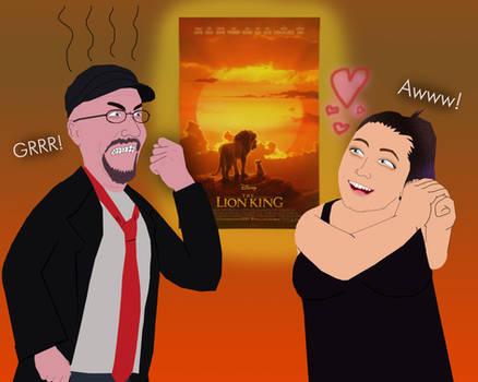 Doug Walker and Tamara Chambers on The Lion King