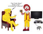 The Frollo Show Revelation in BoJackHorseman-style
