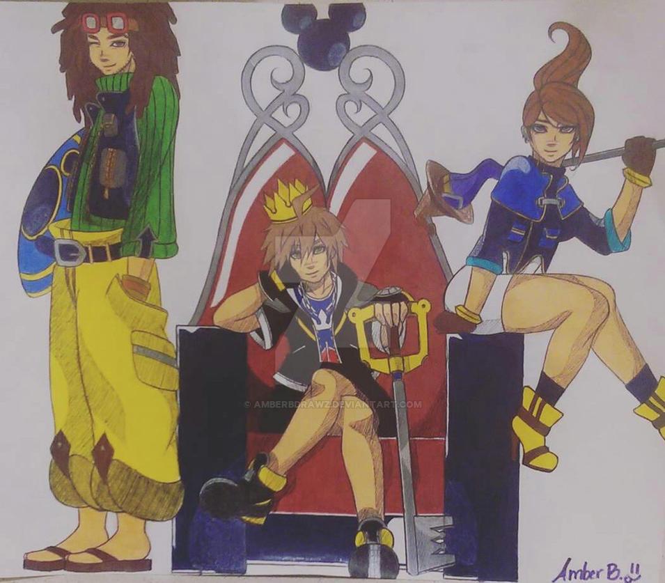 Mangareader Kingdom 545: Kingdom Hearts X Danganronpa By Amberbdrawz On DeviantArt