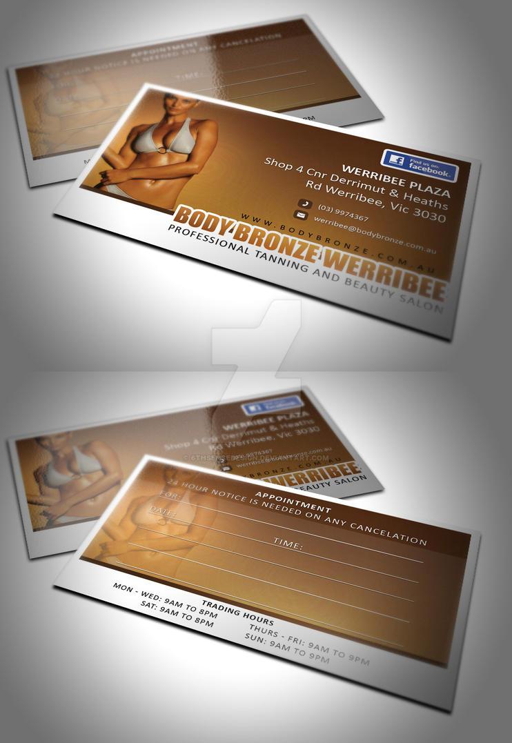 Body Bronze Business Card by 6thsensedesign on DeviantArt