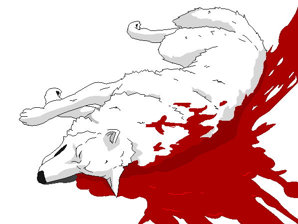 wolf rain coloring pages - photo#32