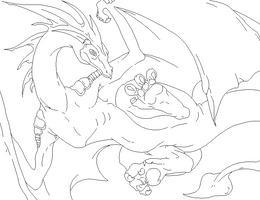 Dragon base 2 by Freak-Bases