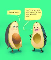 Avocado Things by SANEFOX