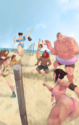 STREET FIGHTER: SUMMER SPORTS SPECIAL by SANEFOX