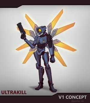 ULTRAKILL - V1 concept