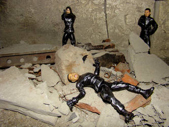 Batman Batarang Take-Down by skphile