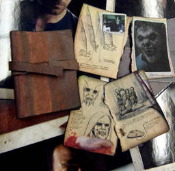 Scale miniature of Aunt Marie's Book of Lore by skphile
