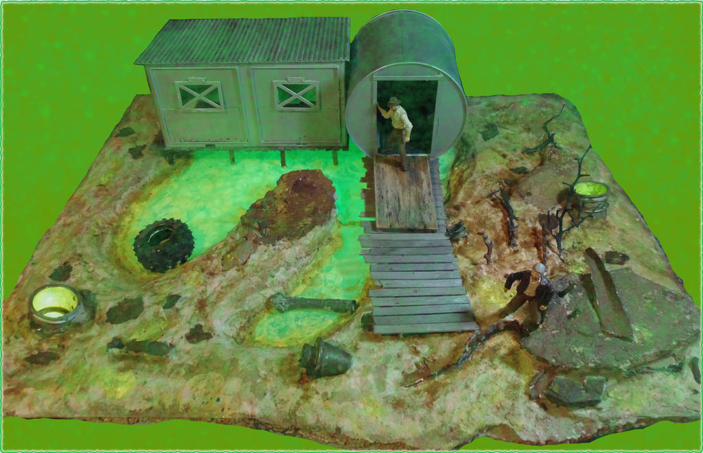 The Glowing Sea Diorama Fallout 4 by skphile on DeviantArt