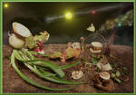 Floran 3 Alien Planet Diorama by skphile