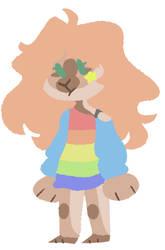 [Adopt] Rainbow Girl - OPEN