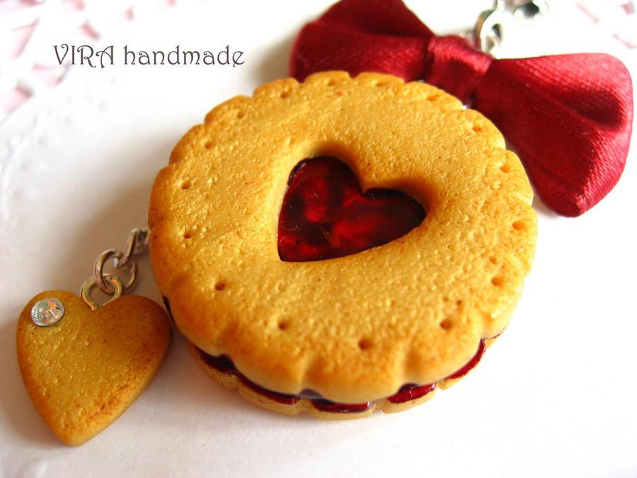Cherry Jam Cookies Recipe — Dishmaps
