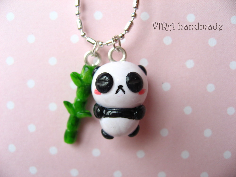 Sleeping panda by virahandmade