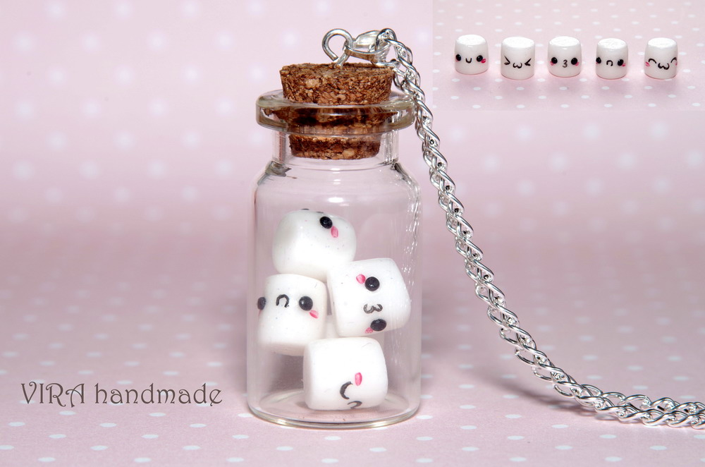 Kawaii marshmallows by virahandmade