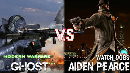 Aiden Pearce V.S Ghost by PhantomN3twork