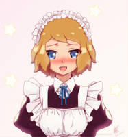 Colorized: Maid Serena by DaDonYordel