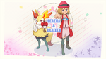 Serena and Braixen