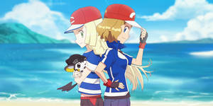 Commission: Serena and Lillie